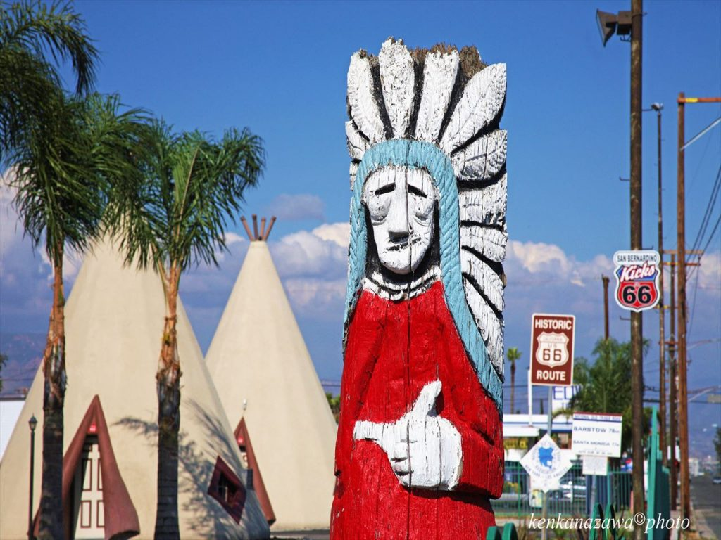 ルート66ウィグワム・モーテル カリフォルニア州