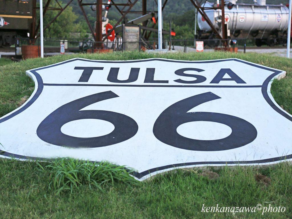 ルート66タルサ オクラホマ州