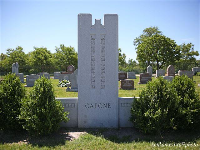アルカポネの墓