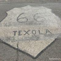 ルート66 テクソラ オクラホマ州