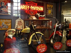 ハーレーダビッドソン博物館 ウィスコンシンミルウォーキー州