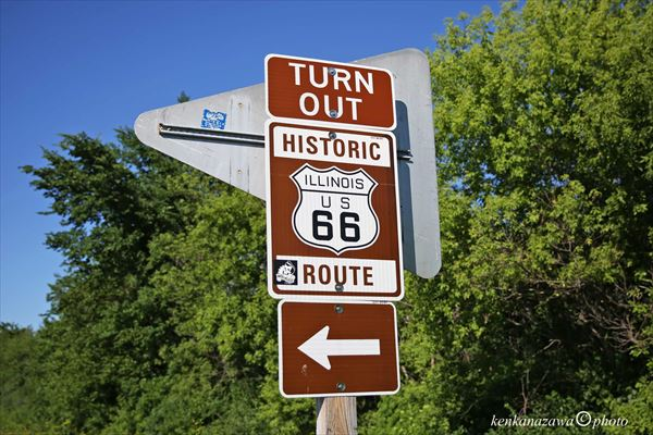 ルート66オーバーン イリノイ州